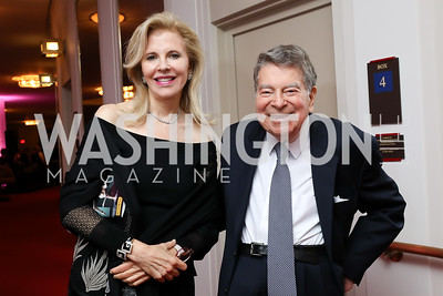 "Jane and Calvin Cafritz. Photo by Tony Powell. WNO ""La Traviata"" Opening Night. Kennedy Center. October 6, 2018"
