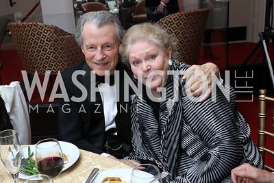 """Leo and Grega Daly. Photo by Tony Powell. WNO """"La Traviata"""" Opening Night. Kennedy Center. October 6, 2018"""