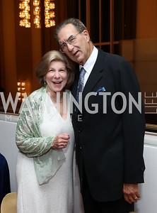 "Nina Totenberg and David Reines. Photo by Tony Powell. WNO ""La Traviata"" Opening Night. Kennedy Center. October 6, 2018"