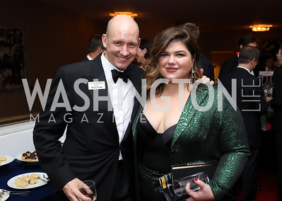 """Robert Ainsley, Leah Crocetto. Photo by Tony Powell. WNO """"La Traviata"""" Opening Night. Kennedy Center. October 6, 2018"""