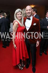 "Susi and Eric Larsen. Photo by Tony Powell. WNO ""La Traviata"" Opening Night. Kennedy Center. October 6, 2018"