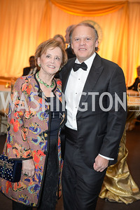 Marion Ein, Mark Ein, The Washington Business Hall of Fame, at the National Building Museum, November 28, 2018.  Photo by Ben Droz.