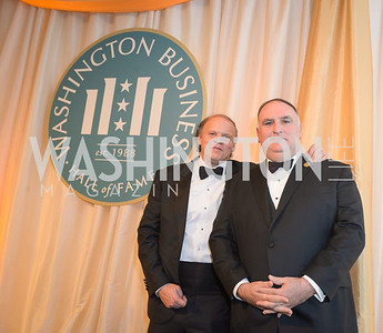 Mark Ein, Jose Andres,  The Washington Business Hall of Fame, at the National Building Museum, November 28, 2018.  Photo by Ben Droz.