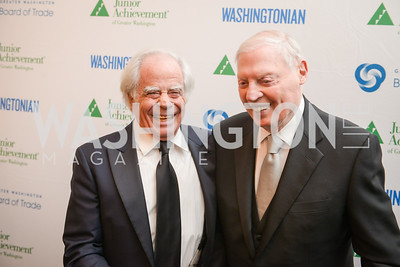 Ben Jacobs, Joseph Gildenhorn,  The Washington Business Hall of Fame, at the National Building Museum, November 28, 2018.  Photo by Ben Droz.