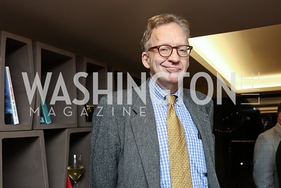 """Jim Pinkerton. Photo by Tony Powell. """"Watergate"""" Book Party. February 19, 2018"""