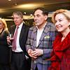 "Alma Paty, Chase Rynd, Christian Zapatka, Juanita Duggan. Photo by Tony Powell. ""Watergate"" Book Party. February 19, 2018"