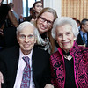 Former Librarian of Congress James Billington, Susan Harper, Marjorie Billington. Photo by Tony Powell. Young Artists Opera Program. Russian Embassy. March 23, 2018