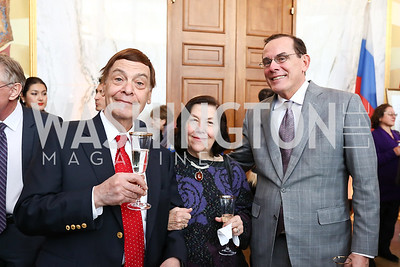 Jerome and Lisette Barry, David Short. Photo by Tony Powell. Young Artists Opera Program. Russian Embassy. March 23, 2018