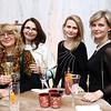 Valentina Puchtel, Larissa Pinigina, Liza Pinigina, Irina Merkulova. Photo by Tony Powell. Young Artists Opera Program. Russian Embassy. March 23, 2018