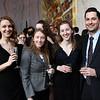 Katherine Kucharski, Kate Baughman, Rianna Jansen, Jesse Mitchell. Photo by Tony Powell. Young Artists Opera Program. Russian Embassy. March 23, 2018