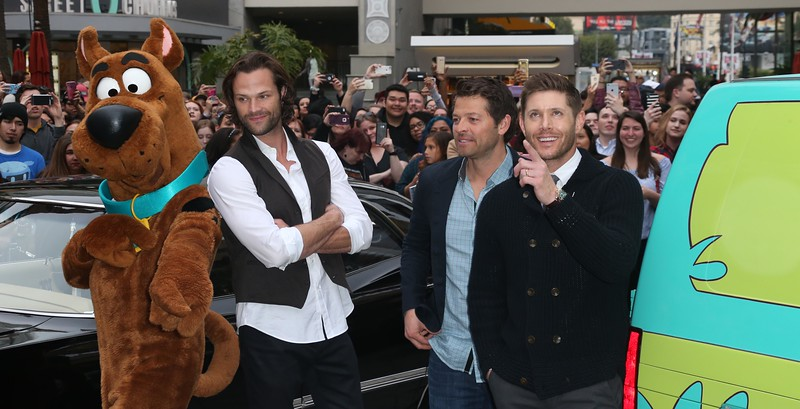 Scooby- Doo, Jared Padalecki, Misha Collins, Jensen Ackles