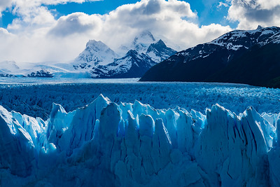 Though we had seen plenty of glaciers during our previous 3 weeks, Perito Moreno is unique for its accessibility and activity