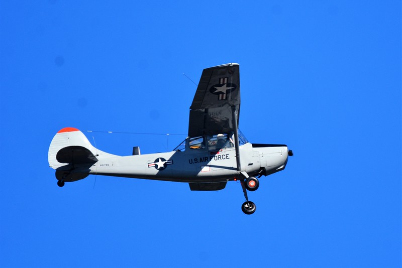 """We will get started with this one of kind of aircraft.  In all appearances this could be a Cessna 172 or to the effect.  Used in Vietnam to help scout out enemy locations and help with rescues.  <br /> <br /> There is a really great movie that starred Gene Hackman and Danny Glover called """"BAT 21"""".  The movie was about where they had to look for a well known Colonel who was shot down who was played by Gene Hackman.  <br /> <br /> Danny Glover played the pilot who flew an aircraft very much like this one who go help to find him.  <br /> <br /> The movie was based on a true story and would show just how much our military would go through Hell to bring that Colonel back to safety."""
