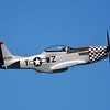 One of my all time favorite fighter aircraft of WWII.  The P-51 Mustang!  This is the aircraft that would escort our bombers in and out of Germany showing the Nazis who was boss!