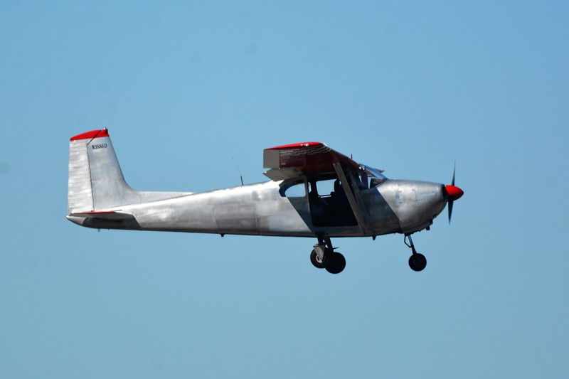 Another really old Cessna aircraft I got to see.
