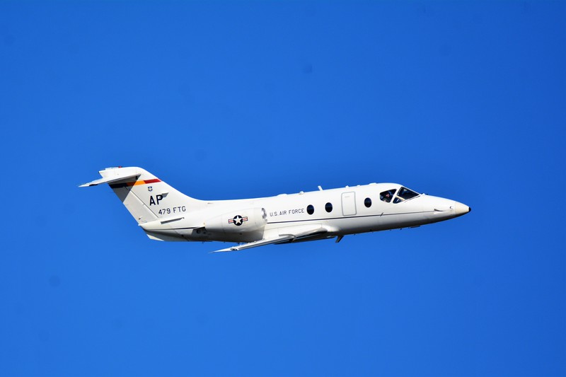 And some side-on photos of the T-1 Jayhawk.  You can almost see the pilot...LOL