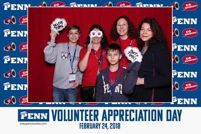 2018 University of Pennsylvania Volunteer Appreciation Day at the Palestra