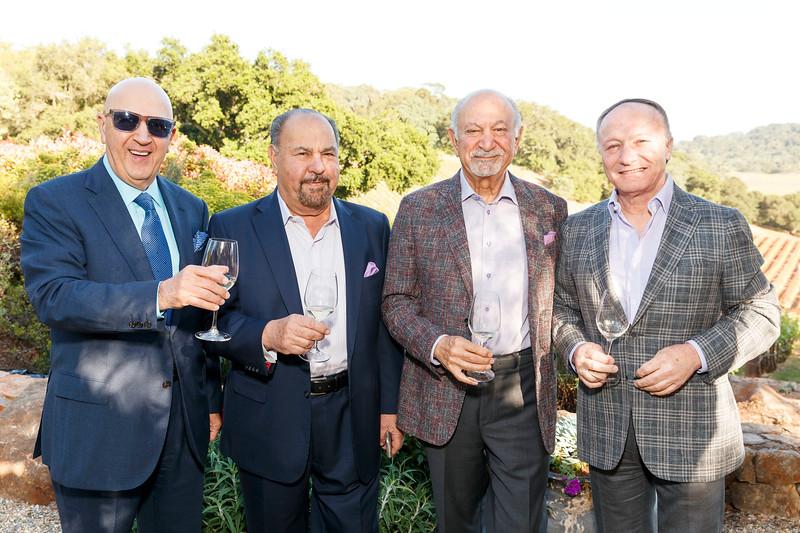 Festival Napa Valley Tribute Dinner to Darioush and Shahpar Khaledi at Gargiulo Vineyards