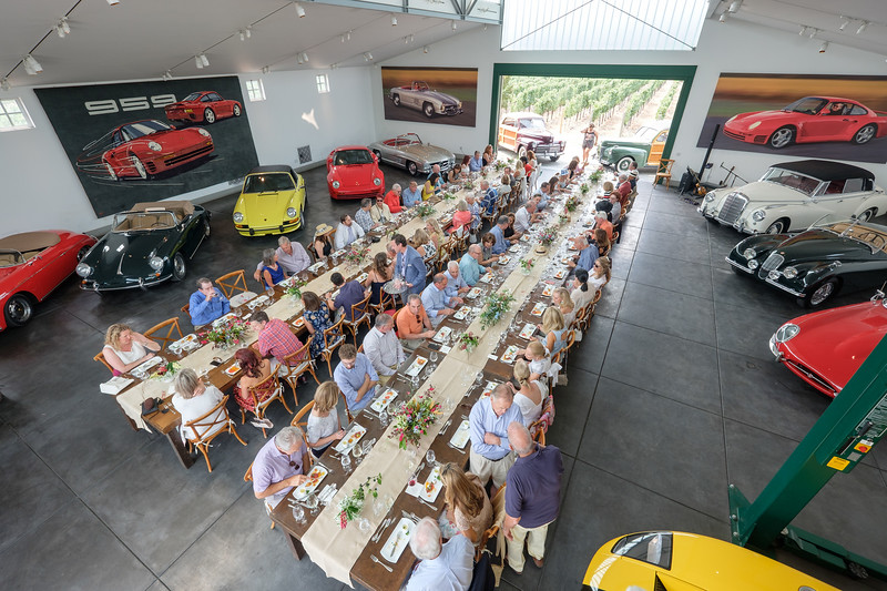The Green Barn Luncheon hosted by Anne and Roger Walther