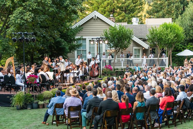 Opening Night at Meadowood Napa Valley
