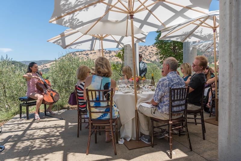 Vintner's Luncheon at Clif Lede Vineyards