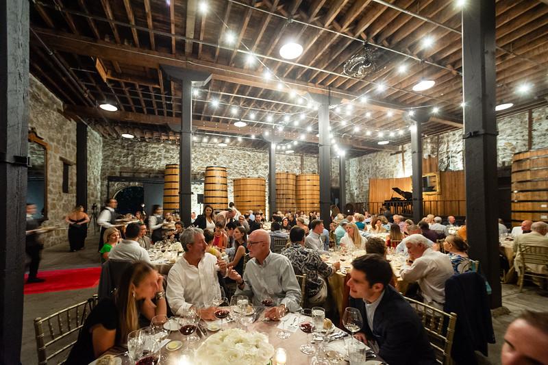 Patron Dinner at Frank Family Vineyards