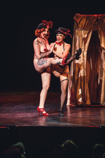 Violet D'vine and Rosa Lee Bloom - Mondo Burlesque - 9/21/2018