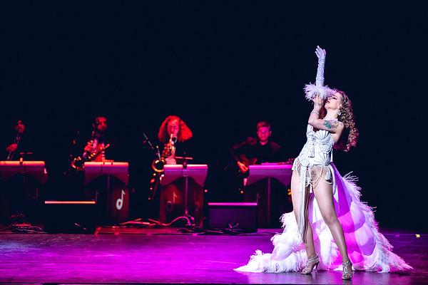 Minouche Van Marabou - Queen of Burlesque Show - 9/22/2018