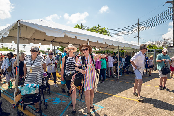 Sauvage St. Entrance. 2018 Jazz Fest