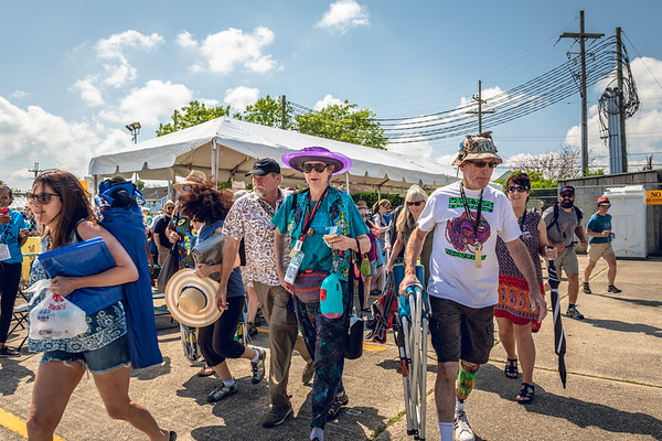 Sauvage St. Entrance. 2018 Jazz Fest