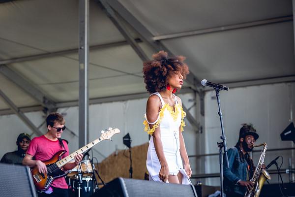 Mykia Jovan - 2018 New Orleans Jazz & Heritage Festival (Jazz Fest)