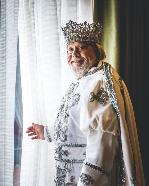 Dr. Marcus Vennart, 2018 King of the Krewe of Okeanos