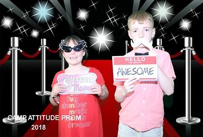 Camp Attitude Prom Photobooth 2018