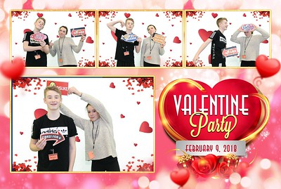 Judson Middle School Valentines Party 2.9.2018