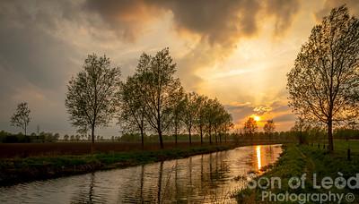 Chelmer Sunset