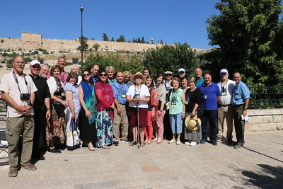 2018-06-26 Holy Land Day 08 - half day - Church of All Nations, Gethsemane,  Mt of Olives, Pater Noster Church