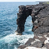 Sea Arch, Chain of Craters Road, Hawaii Volcanoes NP, Hawaii