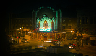 The Indiana Theatre in Terre Haute, Indiana