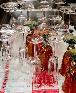 All That Wine - All These Glasses!