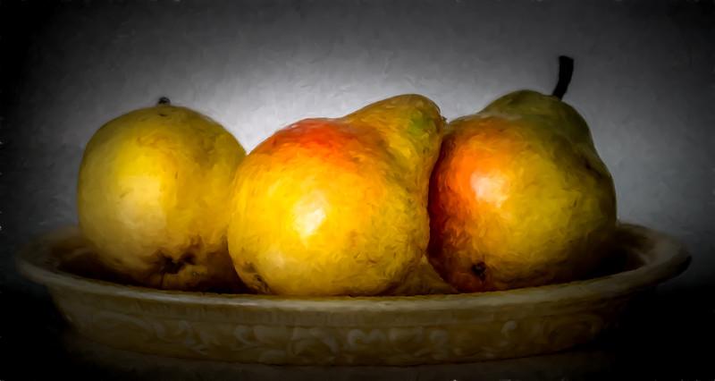Three Pairs (Pears)
