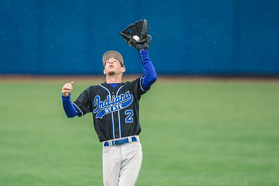Indiana State baseball takes on the Missouri State Bears at Bob Warn Field on March 31, 2018.