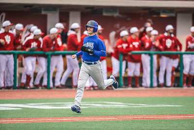 Indiana State baseball takes on Indiana University at Bart Kaufman Field on April 10, 2018.