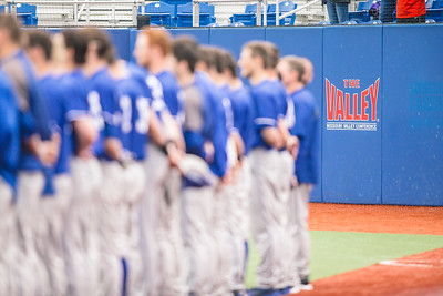 Indiana State baseball takes on Illinois State University at Bob Warn Field on April 14, 2018.