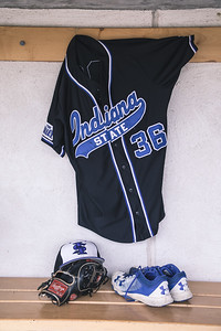 Indiana State baseball takes on Purdue at Alexander Field on April 18, 2018.