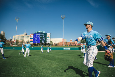 Indiana State baseball takes on Butler University at Victory Field on May 1, 2018.