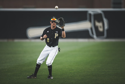 Purdue baseball takes on Michigan at Alexander Field in West Lafayette, Indiana on May 18, 2018