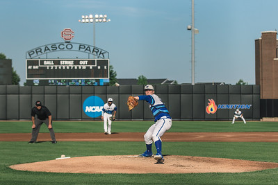 Seton Hall takes on Butler in the Big East Tournament at Prasco Park on May 23, 2018.