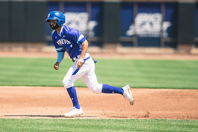 Seton Hall takes on Georgetown in the Big East Tournament at Prasco Park on May 25, 2018.