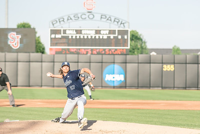 St. John's takes on Butler in the Big East Tournament at Prasco Park on May 25, 2018.