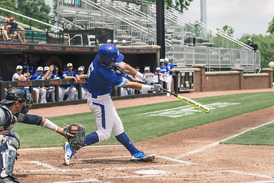 Seton Hall takes on Butler in the Big East Tournament at Prasco Park on May 26, 2018.